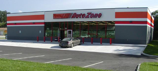 Auto Zone Store Lowell In